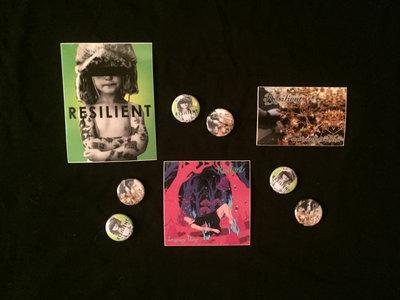 Resilient Button & Sticker Pack main photo