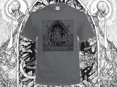 Alunah Solennial Album Cover T-Shirt (Charcoal) main photo