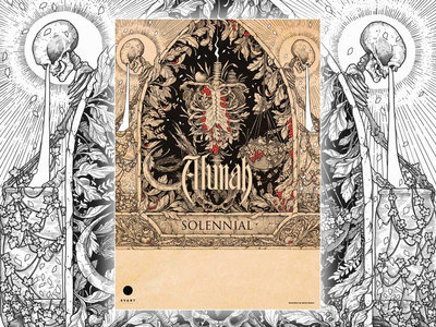 Alunah Hand Numbered, Signed Limited Edition A3 Poster (Solennial Album Artwork) main photo