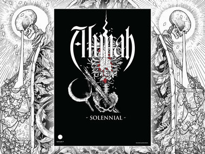Alunah Hand Numbered, Signed Limited Edition A3 Poster (Solennial Torso Artwork) main photo