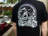 Black 'Sailboat' T-Shirt (Men & Woman sizes) photo