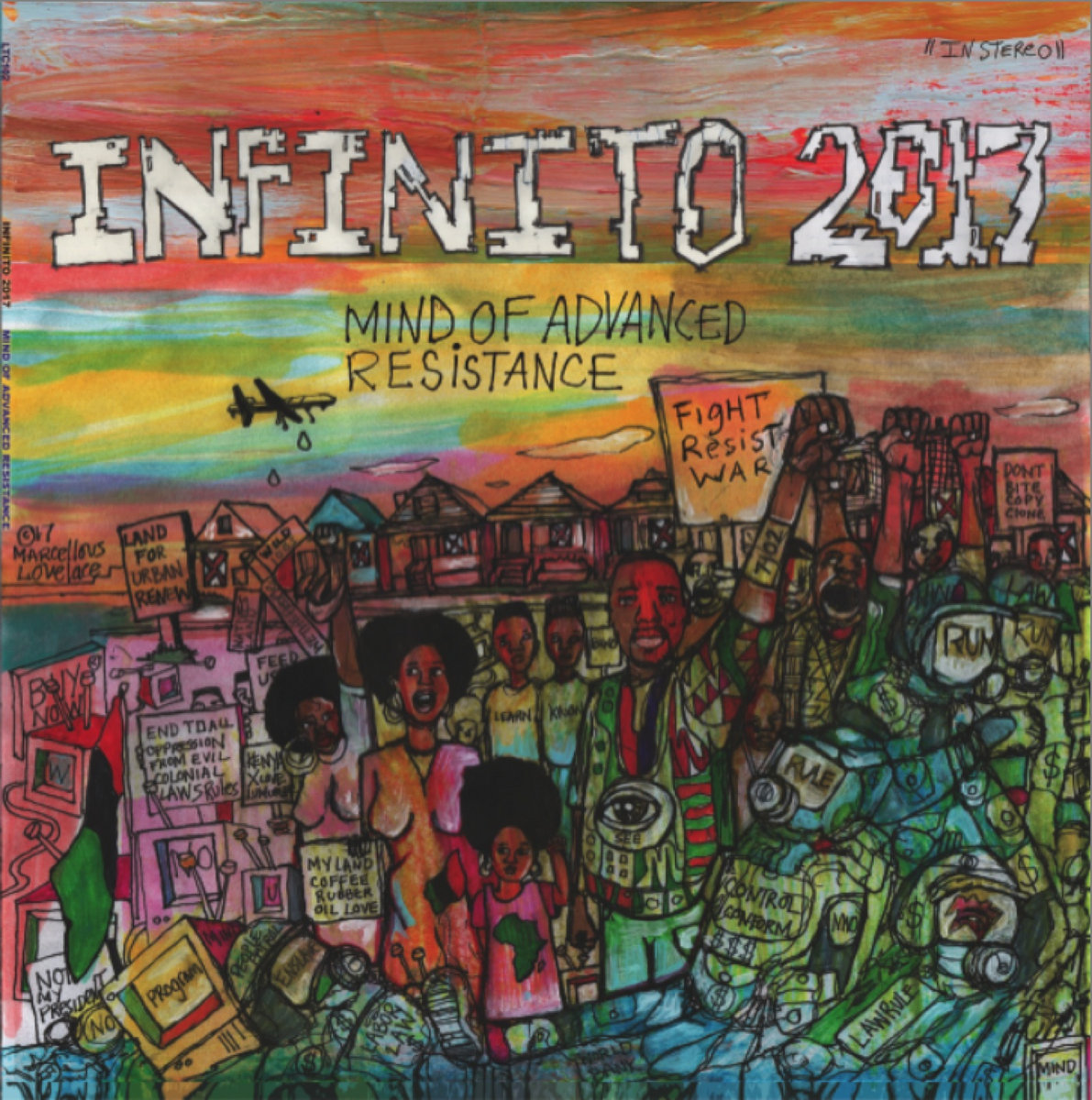 Infinito 2017 Mind Of Advanced Resistance Lowtechrecords