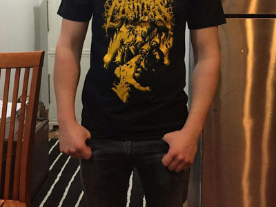 "Locus Mortis ""Gold"" T-Shirt main photo"