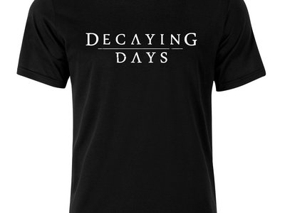 Decaying Days Logo Shirt main photo