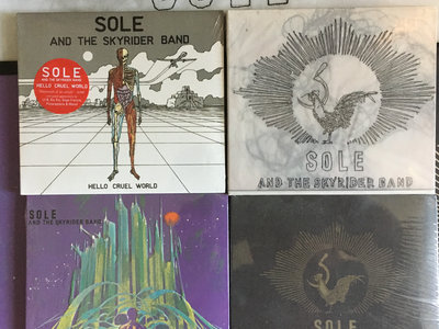 Sole & The Skyrider Band Boxed Set 4 cds $20 main photo