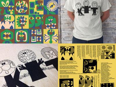Cosmic Neighbourhood vinyl + t-shirt bundle main photo