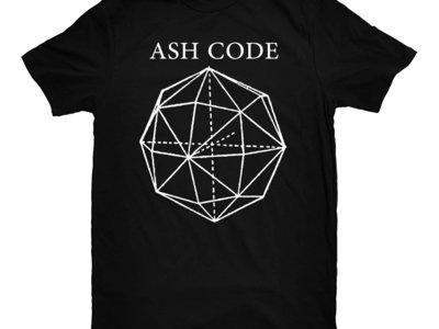Ash Code 'Skinny Logo' Black T-Shirt main photo