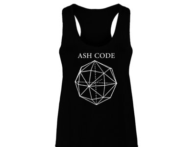 Ash Code 'Skinny Logo' Black Tank main photo