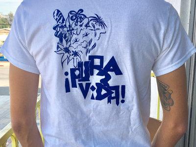 Pura Vida T w/ Guest Art by Primo (White/Blue) main photo