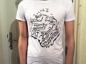 Snoozy Cat T-Shirt (Cat Apostrophe) photo