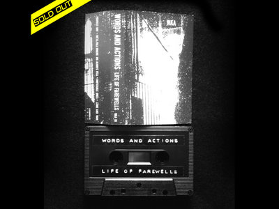 Words and actions - Life of farewells - ONLY DIGITAL DOWNLOAD main photo