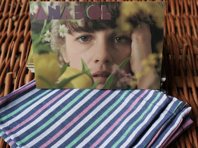 Memory stick and postcard in handmade sack. / El yapımı bez çanta içinde hafıza çubuğu ve kartpostal. main photo