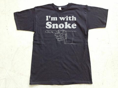 "Steele Wars ""I'm With Snoke"" black t-shirt (APPROX $19 AMERICAN) main photo"