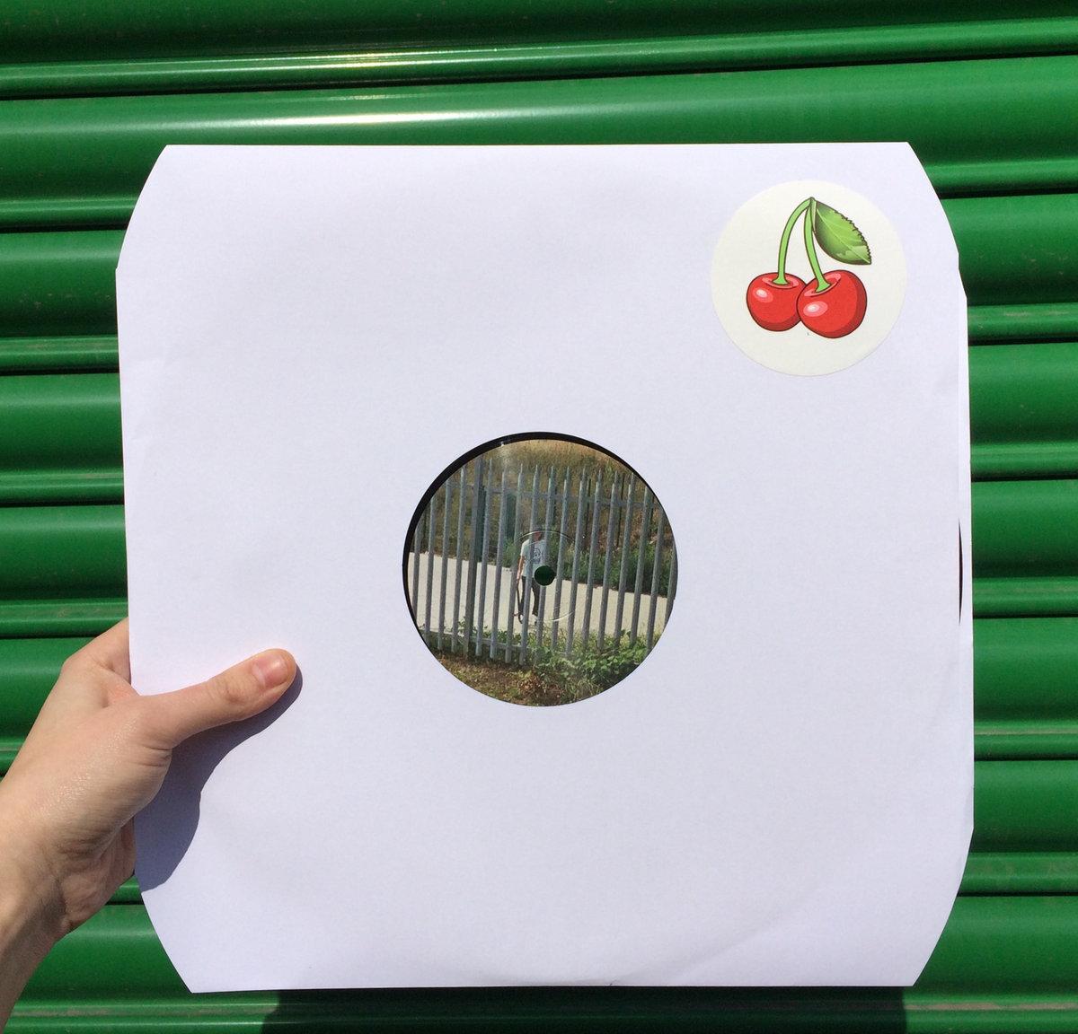 Hard skatin snake evadin cherry chompin 12 from ross from friends on lobster black vinyl white paper sleeve cherry sticker