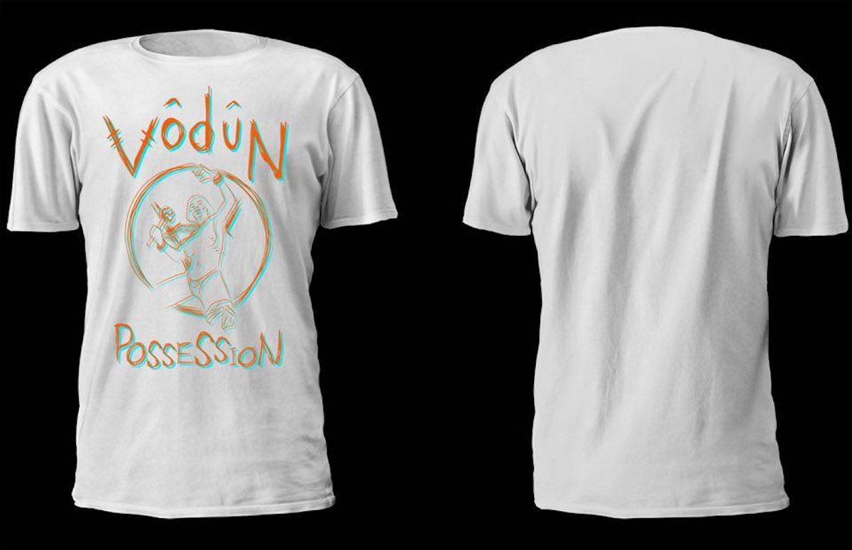 Colour 'Possession' shirt | Vodun