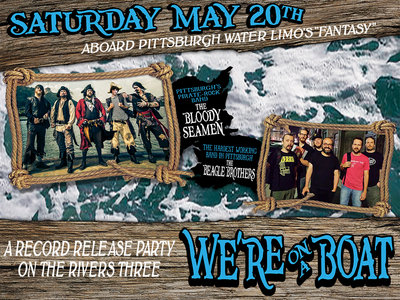 """We're on a Boat!"" Three Rivers Boat Party and CD Release main photo"