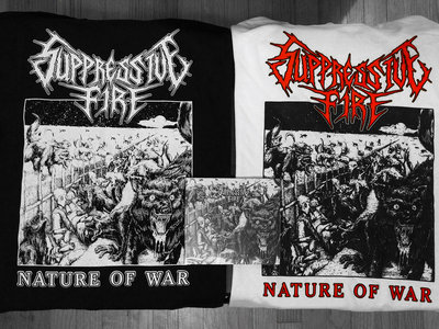 Nature of War T Shirt (Shirt and CD) main photo