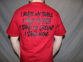 I Stand alone shirt photo