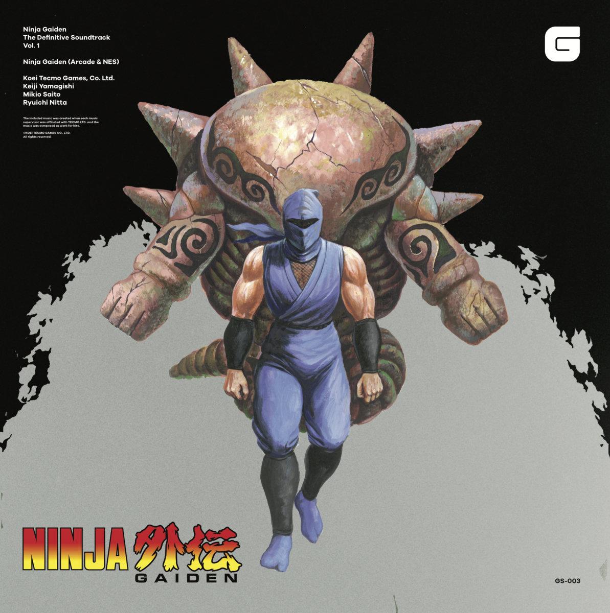 Ninja Gaiden The Definitive Soundtrack Vol 1 Koei Tecmo Games Co Ltd Brave Wave Productions