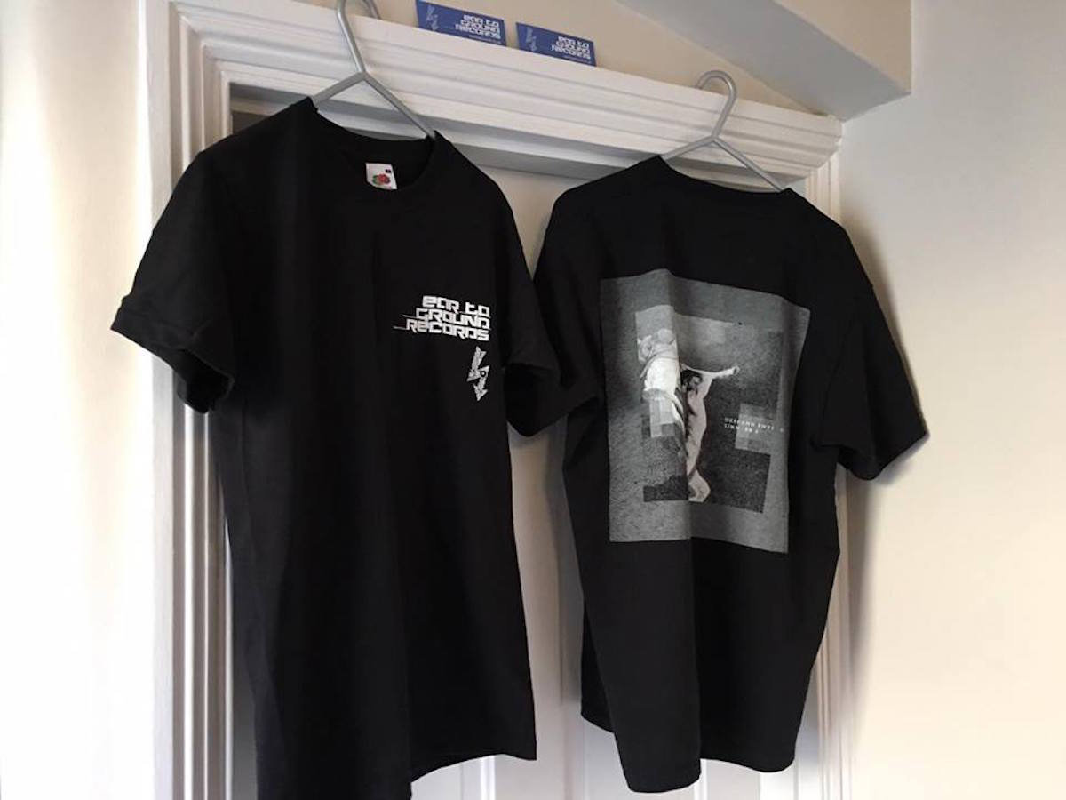Black t shirt front and back -  New Strictly Limited Edition Eartoground Desendents Of Sinners 2017 T Shirts
