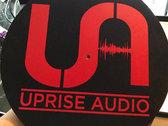 Red UA logo slip mats photo