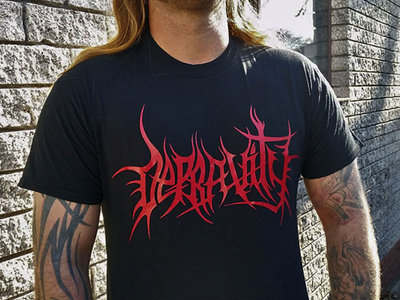 Depravity Logo Shirt main photo