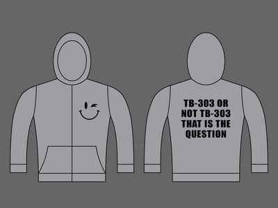 TB-303 OR NOT TB-303 THAT IS THE QUESTION - Unisex Zipped Hoodie - Grey main photo