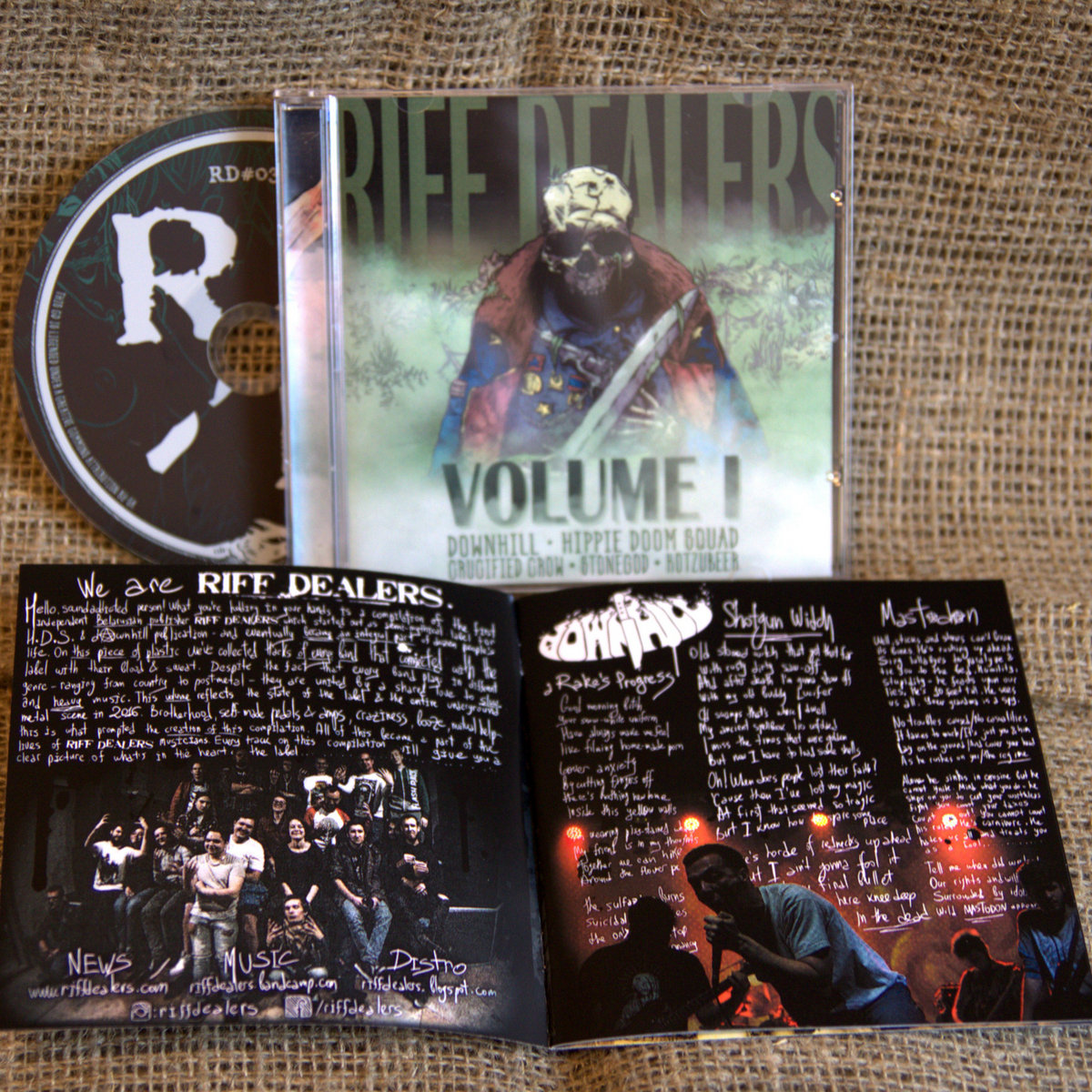 Hippie Doom Squad - Psychojunkie (album version)   Riff Dealers