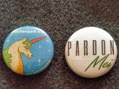Pardon Moi Button photo