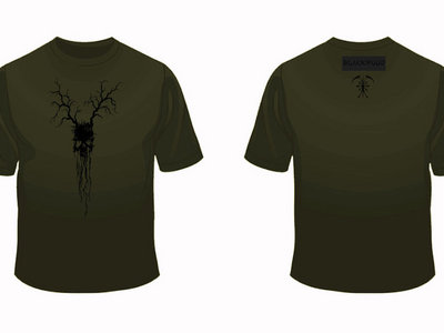 Limited edition Black on military green T-shirt main photo