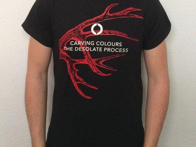 Black 'Antler' Men T-Shirt main photo