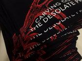 Black 'Antler' Women T-Shirt photo