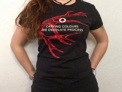 Black 'Antler' Women T-Shirt main photo