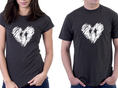 Ryanhood Heart T-Shirt - Grey - $10 CLEARANCE SALE main photo