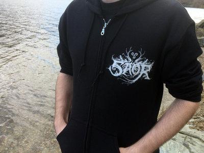 'Logo/Stag' Zip Hoodie main photo