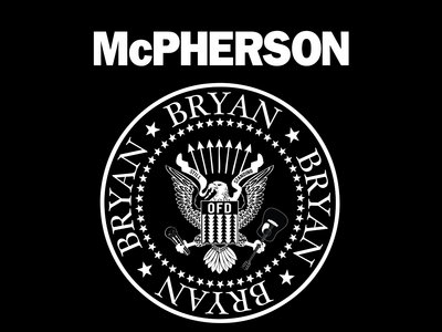 McPherson Presidential Seal on Gildan Soft Cotton T main photo