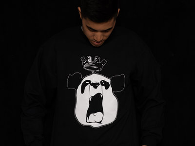 "Black ""Panda King"" SweatShirt main photo"