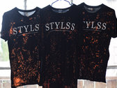 STYLSS Splatter T-Shirt [Limited Edition] photo