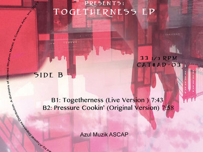 """Atypical Dopeness & Roi Azulay Presents: Togetherness EP - 12"""" Vinyl Release. main photo"""