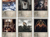 FREE 'Painted In Blood' 2017 calendar with every order for 30€ or more! photo