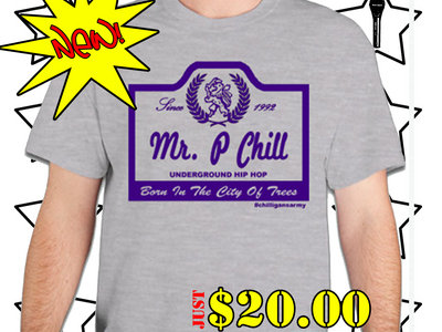 Mr. P Chill Beer Brand T-Shirt main photo