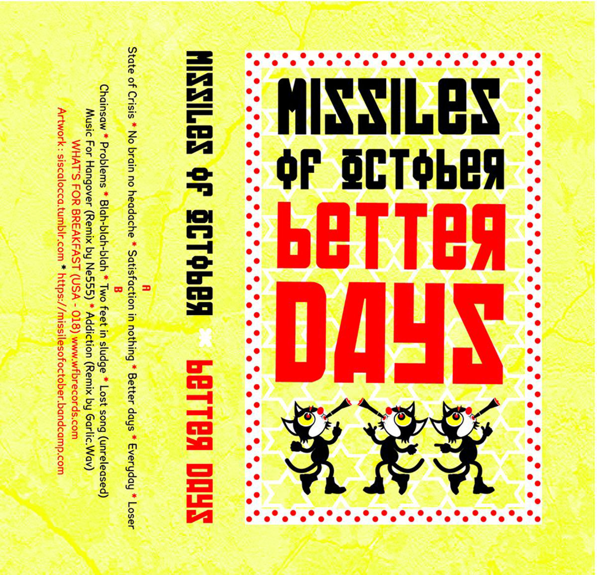 Better days (2016) | Missiles of October