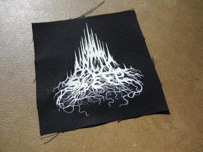Arctic Sleep mountain logo canvas PATCH main photo
