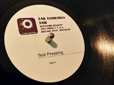 Zak Damundo - 3am (Test Pressing) main photo