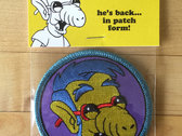 """Alf-House"" Embroidered Patch photo"