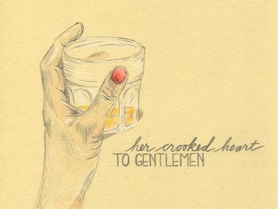 TO GENTLEMEN: Raise a Glass! Archival print of original artwork. main photo