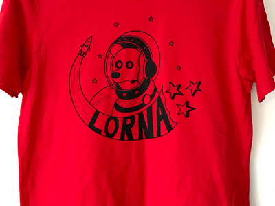 Spacedog T-shirt: Red main photo