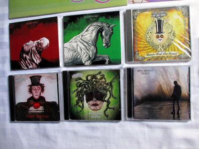 Arcade Messiah / KingBathmat /John Bassett 6 x CD Bundle main photo