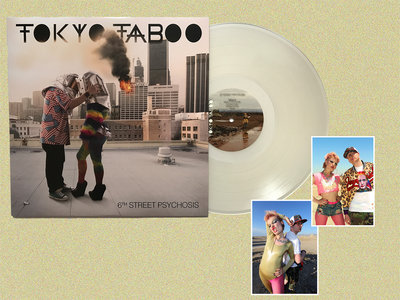 6th Street Psychosis LP (Exclusive Ice White Vinyl) + Two Exclusive Signed Art Prints main photo