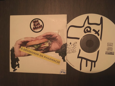 "LORENZO AND THE LAMAS ""WE EAT MEAT"" CD DEADSTOCK EXCLUSIF n°2 main photo"